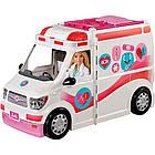 Набор Барби Машина скорой помощи  -  Barbie Care Clinic Vehicle l, фото 2