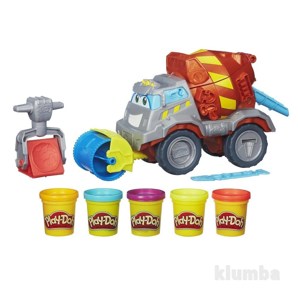 Набор для творчества Плей-До Бетоновоз Play-Doh Max The Cement Mixer
