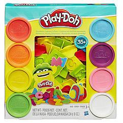Набор для творчества Плей-До Алфавит и цифры  Play-Doh Numbers, Letters, N' Fun