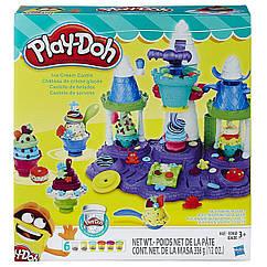 Набор для творчества Плей-До Замок мороженого Play-Doh Ice Cream Castle