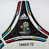 Мяч футбольный ADIDAS TANGO 12 OMB X41860 (размер 5), фото 9