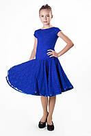 Платье рейтинговое (бейсик) PR761805 Лодочка гипюр