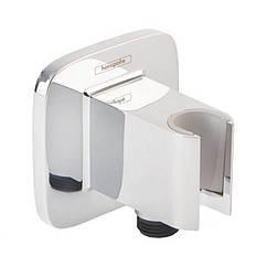 Подключение шланга Hansgrohe Fixfit Porter E 26485000 с держателем для лейки
