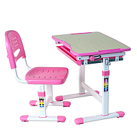 Стол - парта Piccolino Pink  3 - 12 лет