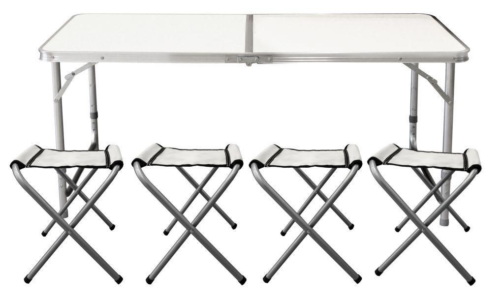 Туристический складной стол с креслами GardenLine
