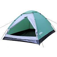 Палатка SOLEX двухместная зеленая (82050GN2)
