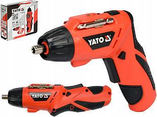 Шуруповерт аккумуляторный YATO YT-82760