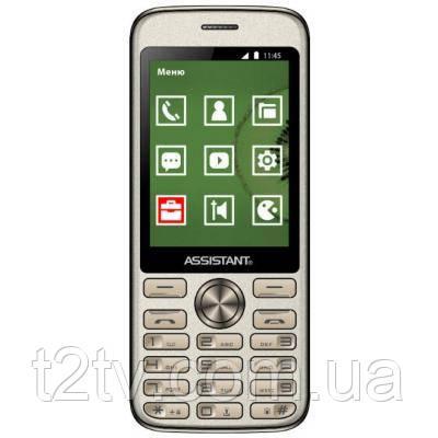 Мобильный телефон Assistant AS-204 Gold (873293012810)