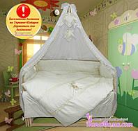Детское постельное белье Bonna Lux c Бесплатной Доставкой по всей Украине Плюс подарок-Держатель для балдахина!