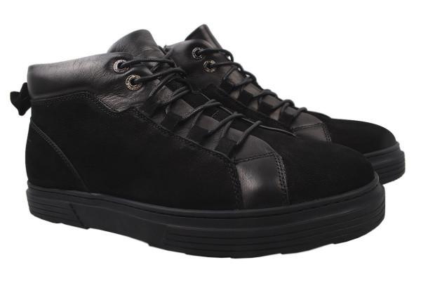 Ботинки Cosottinni нубук, цвет черный