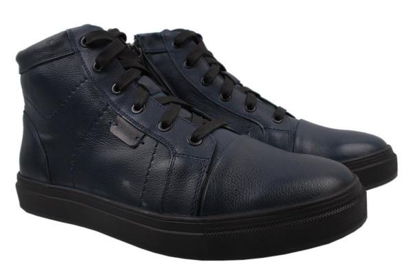 Ботинки Mida натуральная кожа, цвет синий