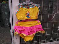Купальник детский GIRL топик и плавки-юбочка