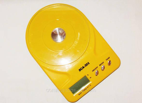 Весы кухонные до 7 кг 102/301/6102 , фото 2