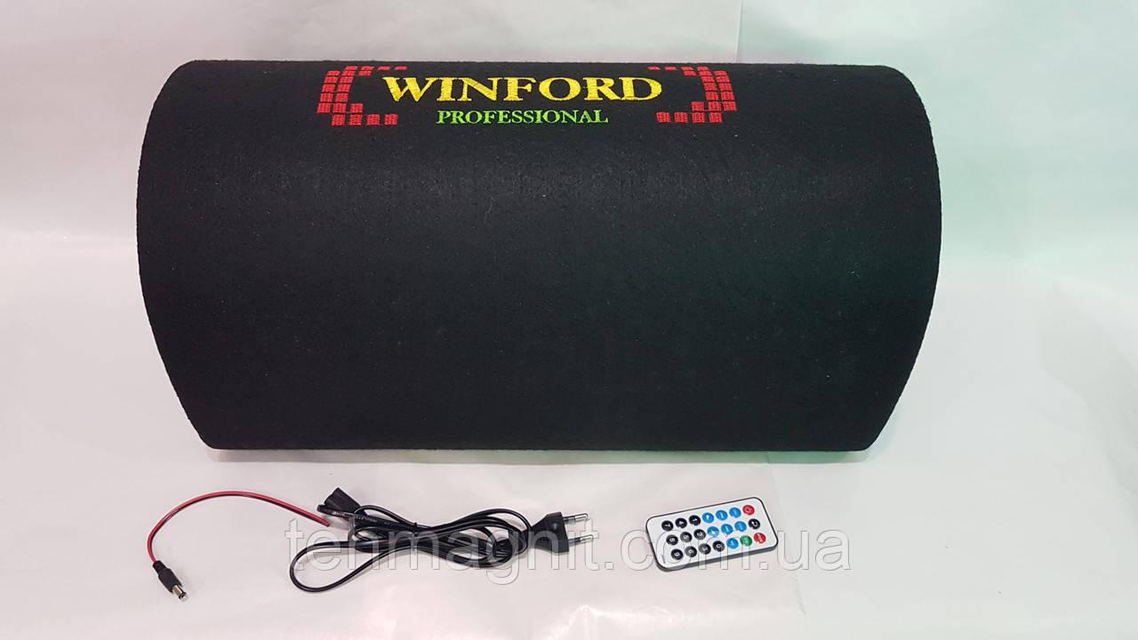 """Автомобильный сабвуфер Winford 8"""" 350 W активный с Bluetooth"""