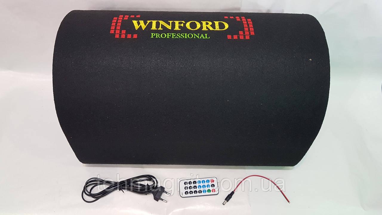 """Автомобильный сабвуфер Winford 10"""" 500 W активный с Bluetooth"""