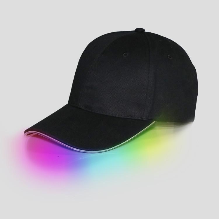 Бейсболка, кепка с неоновой Led подсветкой - 152299
