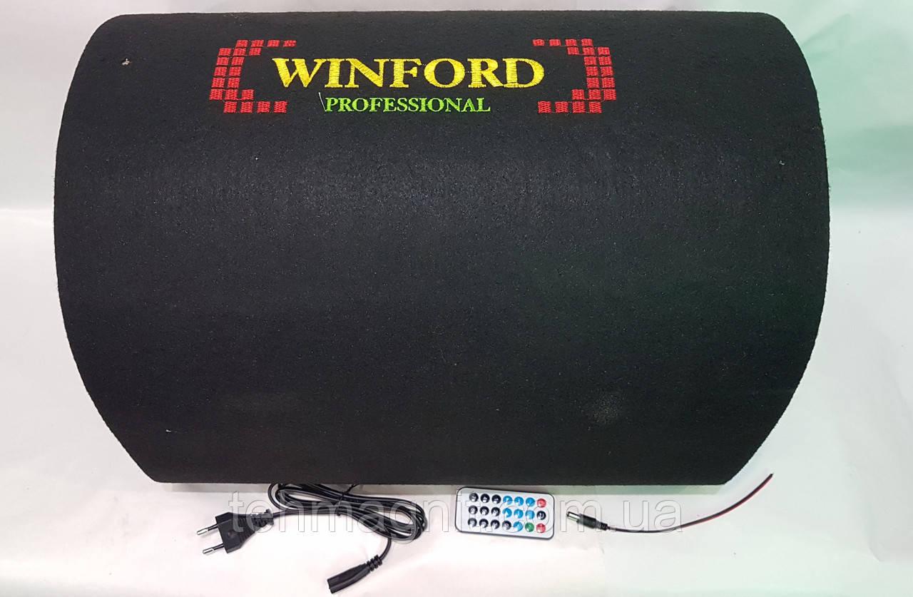 """Автомобільний сабвуфер Winford 12"""" 1000 W активний з Bluetooth"""