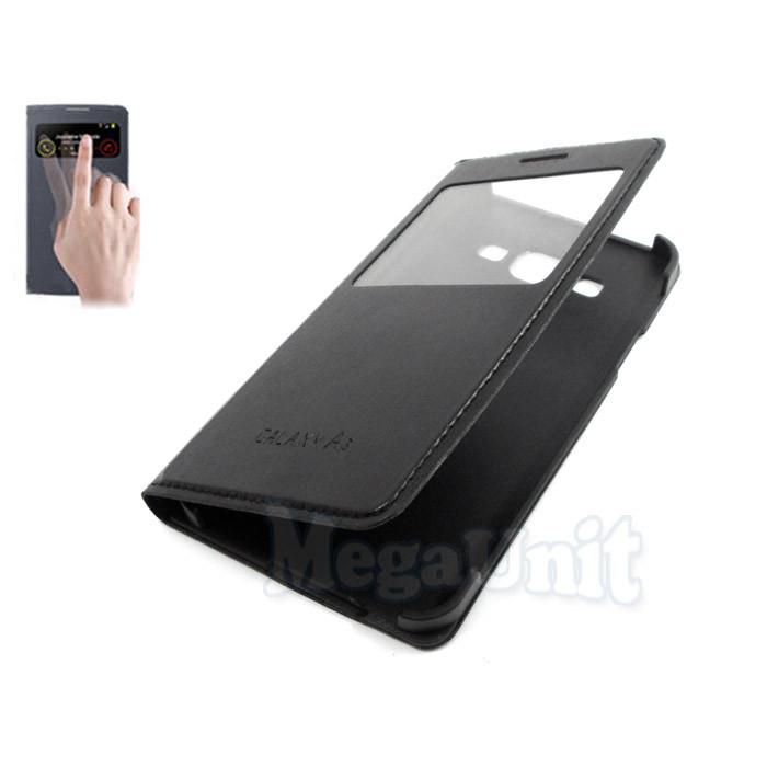 Чехол-книжка S View Cover для Samsung Galaxy A3 a300h Черный
