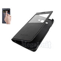 Чехол-книжка S View Cover для Samsung Galaxy A3 a300h Черный, фото 1