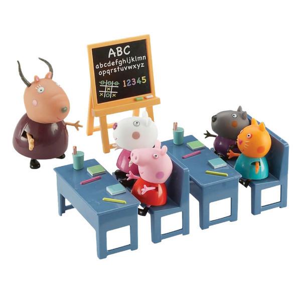 Peppa Pig Свинка Пеппа Идем в школу классная комната 05033 Classroom Playset
