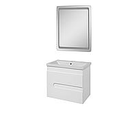 Комплект мебели для ванной комнаты Пандора/Симпл-Белый СБ-60-30-Z-1880-P