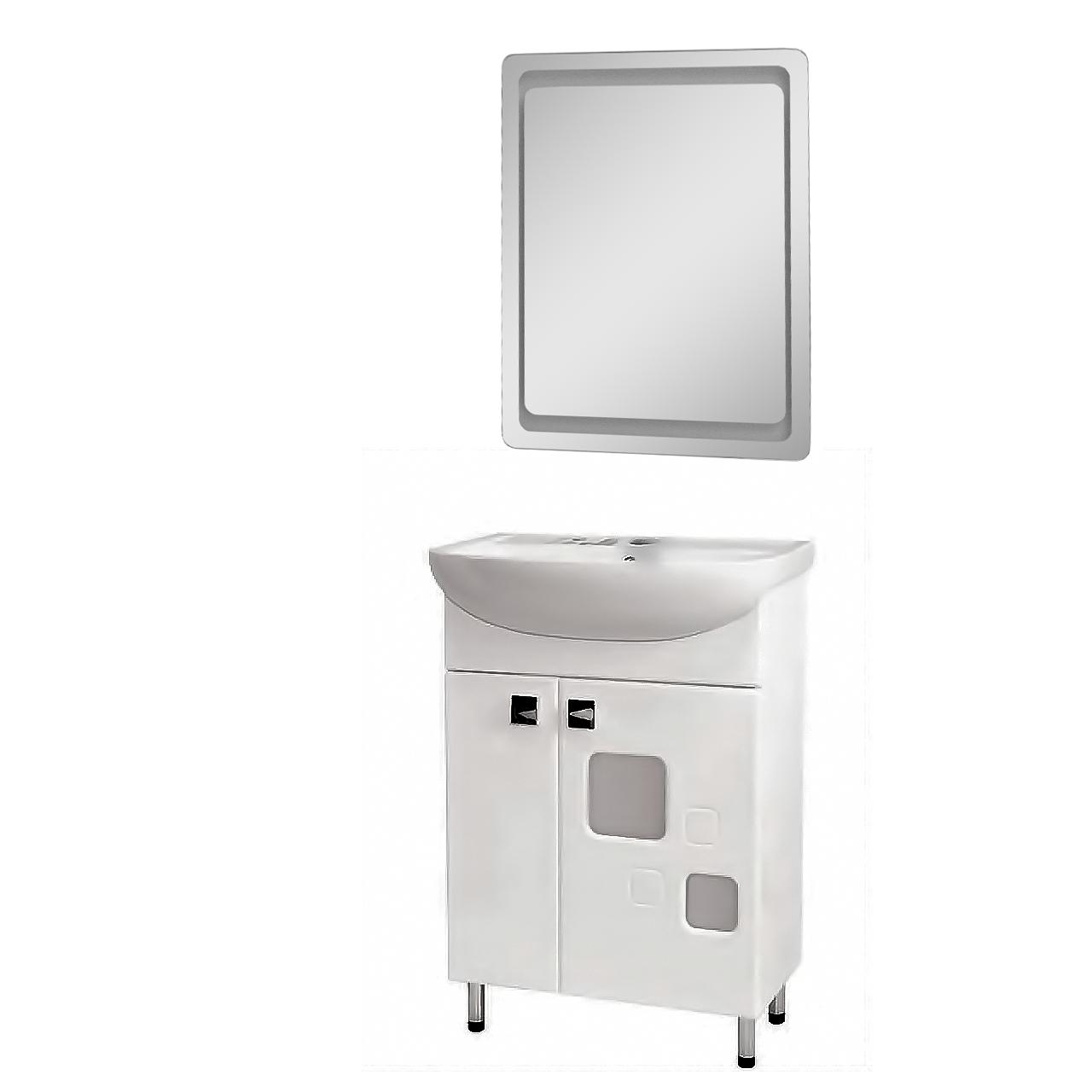 Комплект мебели для ванной комнаты Пандора/Квадро КВ-60-35-Z-1880-P
