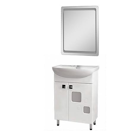 Комплект мебели для ванной комнаты Пандора/Квадро КВ-60-35-Z-1880-P, фото 2