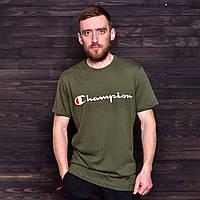 Чоловіча спортивна футболка Champion, кольору хакі