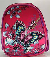 """Рюкзак для дівчинки """"Квіти Метелик"""""""