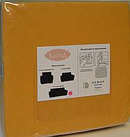 Чохол для дивана Стільники жовтий, фото 1