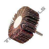 Круг шлифовальный лепестковый КЛО 80x30x6 P120 с оправкой сегментный