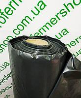 Пленка черная техническая 100 мкм, 3м.х100м. Полиэтиленовая ( для мульчирования, строительная).
