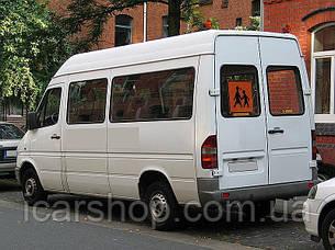Стекло M. Sprinter I / VW. LT 35 95-06 тыл правый 635 * 628 (Уплотнитель) DG