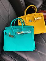 Элегантная женская мини-сумочка Гермес Биркин 25 см (реплика), фото 1