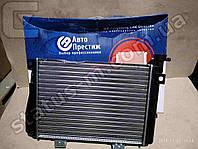 Радиатор вод. охлаждения ВАЗ 2107 (алюм.) (пр-во Авто Престиж)  повр. упак., примяты соты