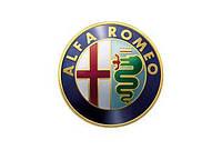 Накладки на пороги, на бампер ALFA ROMEO