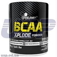 Olimp BCAA Xplode 280g БЦАА аминокислоты для тренировок для восстановления мышц спортивное питание