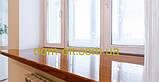 Кристалит (Латвия) пластиковые подоконники, цвет Орех , ширина на выбор ширина 300 мм, фото 7