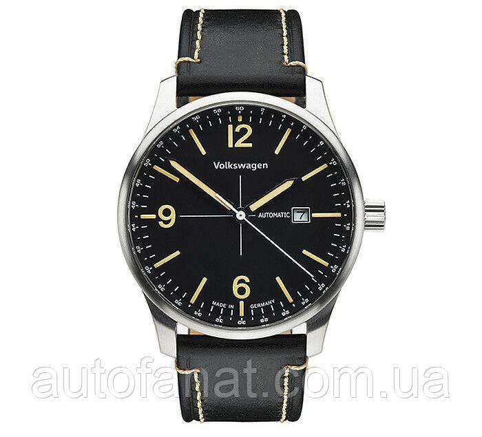 Оригинальные мужские автоматические часы Volkswagen Men's Watch Automatic, Black (33D050800D)