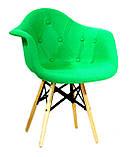 Крісло Leon Strong Шерсть, зелене, фото 2