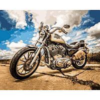 Картина по номерам Харлей Дэвидсон 40Х50 Babylon VP722
