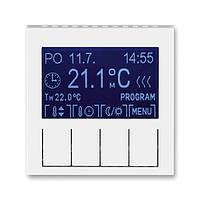 Терморегулятор для теплої підлоги білий/крижаний білий, Levit Elektro-Praga ABB