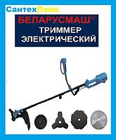 Электрокоса Беларусмаш БТЭ-3200  разборная штанга 3 ножа 1 катушка, фото 1