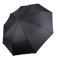Чоловічий автоматичний зонт Feeling Rain, чорний, 8012-1