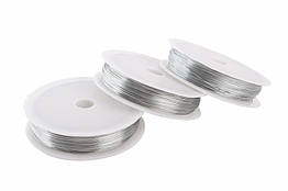 Проволока 0,3 мм для рукоделия серебро