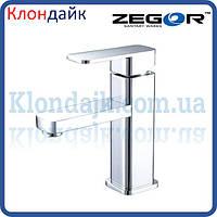 Смеситель для умывальника Zegor LEB1 WKB123 (хром)