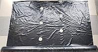 Плівка полотно ширина - 1,20 м, 40ст, довжина - 500м. Чорна з перфорацією (мульчують)., фото 1