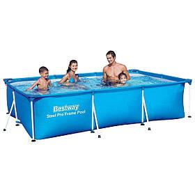Каркасный бассейн Bestway 56404 размер 300 х 201 х 66 см