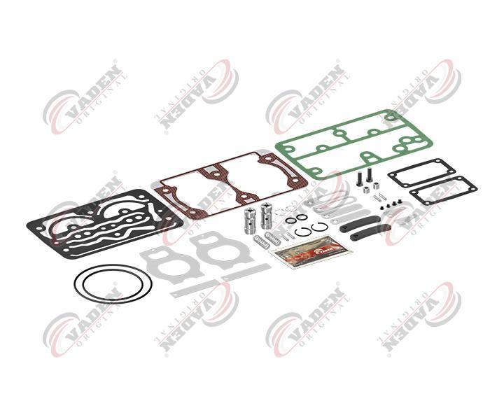 Ремкомплект компрессора (клапана + прокладки+уплотнения)