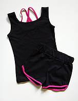 Комплект спортивной детской одежды майка и шорты